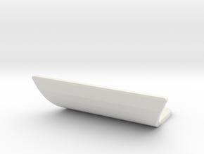 losi jrx pro front bumper in White Natural Versatile Plastic