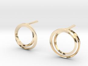 Laika earrings in 14K Yellow Gold