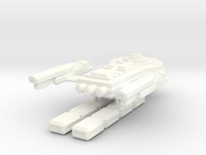 USS Gervall in White Processed Versatile Plastic