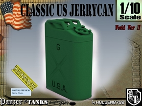 1/10 US Army Jerrycan in Green Processed Versatile Plastic