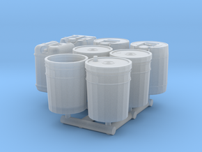 1-24_5gal_containers in Smooth Fine Detail Plastic