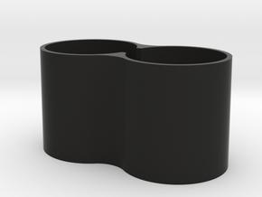 Cinetape Horns Extension  in Black Natural Versatile Plastic