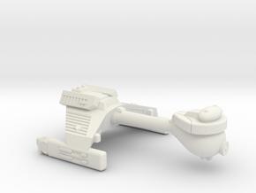 3125 Scale Klingon E4 Escort WEM in White Natural Versatile Plastic