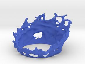 60mm - Energy Effect - Half Circle in Blue Processed Versatile Plastic