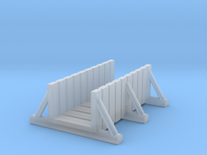 foot bridge 5cm tall in Smooth Fine Detail Plastic