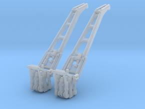 1/700 DKM Hipper Seaplane Crane Set x2 in Smooth Fine Detail Plastic