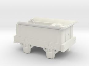 00 Scale Coppernob Tender (motorised) scratch-aid in White Natural Versatile Plastic