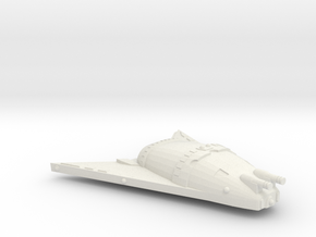 3125 Scale Hydran Rhino Hunter War Destroyer CVN in White Natural Versatile Plastic