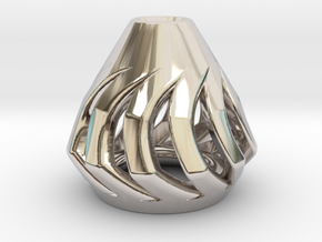 Tau Zero begleri KAON in Rhodium Plated Brass