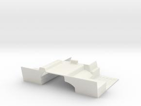 Vanquish - Ripper SCX 10 with Dig Floor pan in White Natural Versatile Plastic