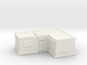 Corner-lot house A in White Natural Versatile Plastic