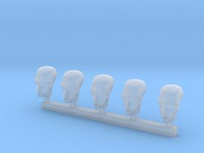 Sterotype Alien Head x5 in Frosted Ultra Detail