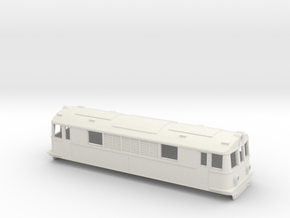 Swedish BJ/GDJ/SJ electric locomotive type O/Bk -  in White Natural Versatile Plastic