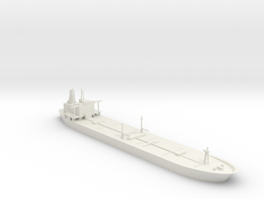 1/1200 Oil Tanker in White Natural Versatile Plastic