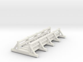 small foot bridge  long in White Natural Versatile Plastic