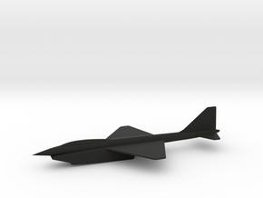 Northrop Grumman N-251 Supersonic VTOL Interceptor in Black Premium Strong & Flexible: 6mm