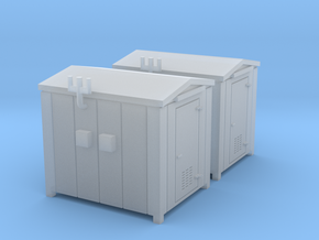N Scale 2x Relay Shed 1 in Smooth Fine Detail Plastic