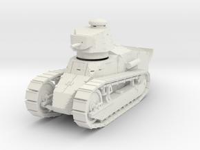 PV151D M1917A1 Six Ton Tank w/MG (1/35) in White Natural Versatile Plastic