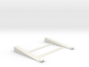 Cool Laptop/Notebook Stand  in White Natural Versatile Plastic