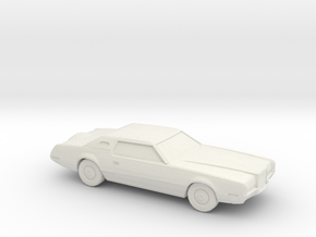 1/76 1971 Lincoln Continental Mark IV in White Natural Versatile Plastic