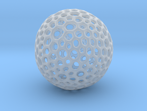 mesh sphere in Smooth Fine Detail Plastic