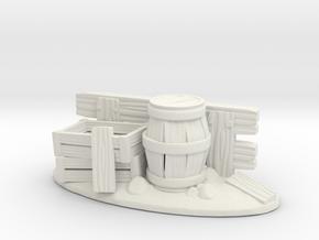 vallabarriles in White Natural Versatile Plastic