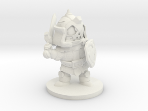 warrior´chibi in White Natural Versatile Plastic