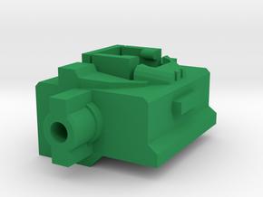 Combiner Wars Hot Spot Titans Master neck adaptor in Green Processed Versatile Plastic