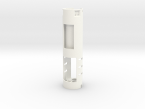 89sabers Sidious - Part (1/4) Chassis Prizm5.1 in White Processed Versatile Plastic