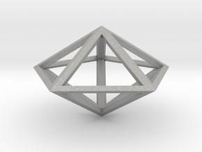 Pentagonal Bipyramid in Aluminum