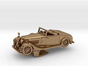 Bentley 1930 4,5L 1:48 in Natural Brass