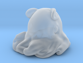 Dumbo octopus At 1.5 inch in Smooth Fine Detail Plastic: Small
