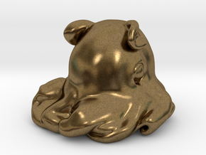Dumbo octopus At 1.5 inch in Natural Bronze: Small