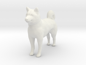 G scale husky H in White Premium Versatile Plastic