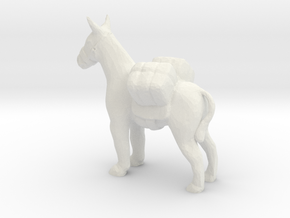 G scale pack donkey H in White Natural Versatile Plastic