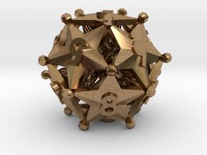D12 Spindown - Radiant in Natural Brass