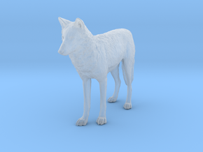 North American Gray Wolf - 1:72 in Smoothest Fine Detail Plastic