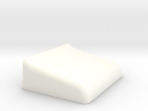 Turtle bed 1/18 in White Processed Versatile Plastic