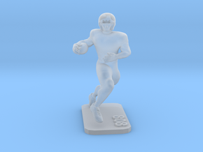 Running Back #4.2 in Smooth Fine Detail Plastic
