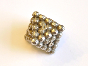 D8 Balanced - Balls in Polished Bronzed Silver Steel