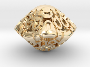 Art Nouveau Decader d10 in 14K Yellow Gold