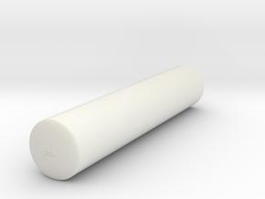 2500 starfleet cargo cylinder in White Natural Versatile Plastic
