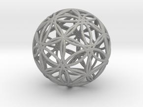 Icosasphere v2 in Aluminum