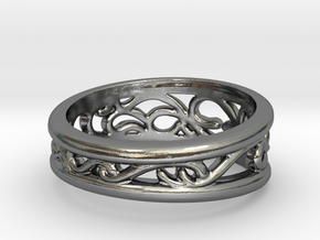 Dark Souls Sun Princess Ring in Polished Silver: 5 / 49