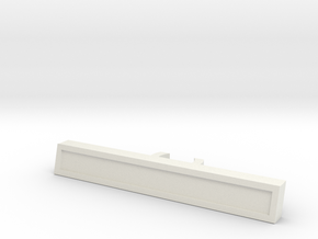Nameplate (Customizable) in White Natural Versatile Plastic