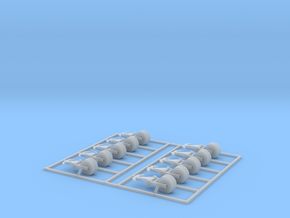 Crane block hooks Zscale in Smooth Fine Detail Plastic
