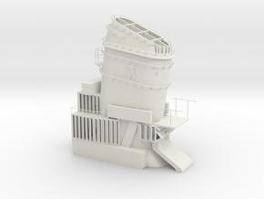 vorderer Schornstein Z-39 1945 scale 1:50 in White Natural Versatile Plastic