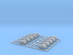 Crane Block Hooks Z Scale in Smooth Fine Detail Plastic