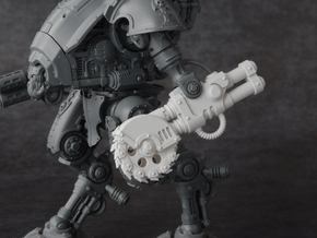 Mini Knight - Siege Saw in Smooth Fine Detail Plastic