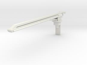 1/25 SQURT BOOM in White Natural Versatile Plastic